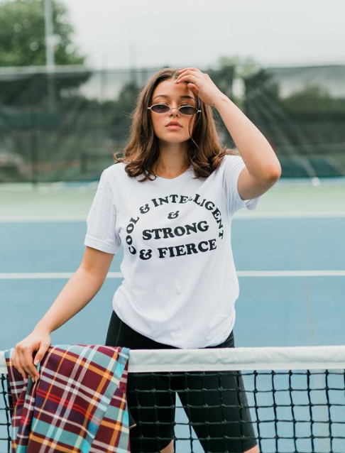 'Cool & Intelligent & Strong & Fierce' Tee
