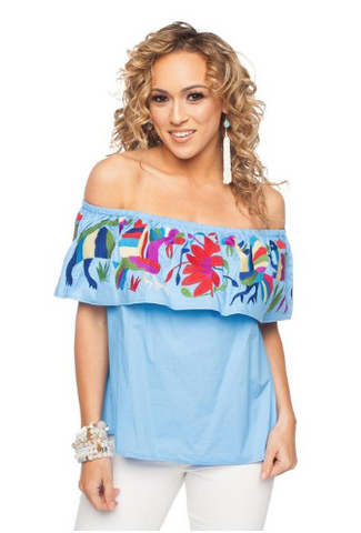 'Selena' Ruffle Off The Shoulder Top