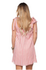 'Keri' Pink Striped Dress