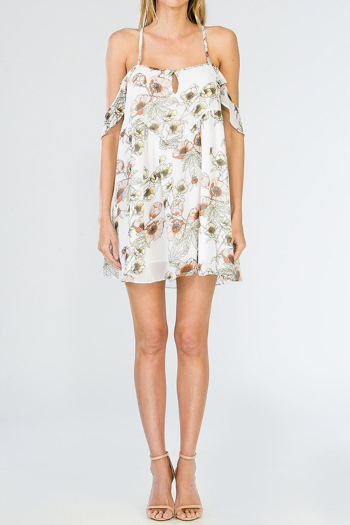 'Sawyer' Floral Dress