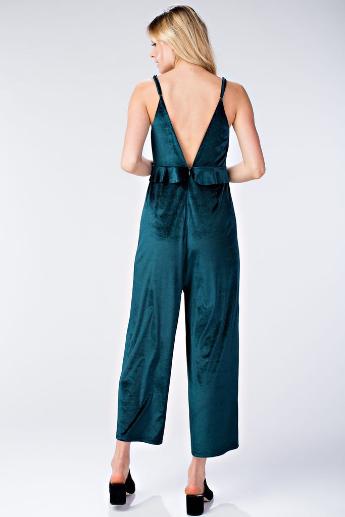 'State of Velvet' Jumpsuit