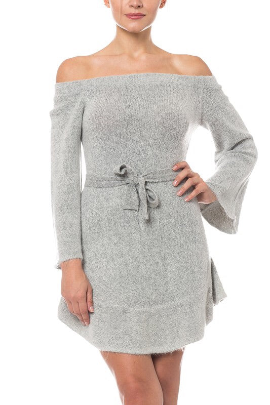 'Count the Stars' OTS Sweater Dress