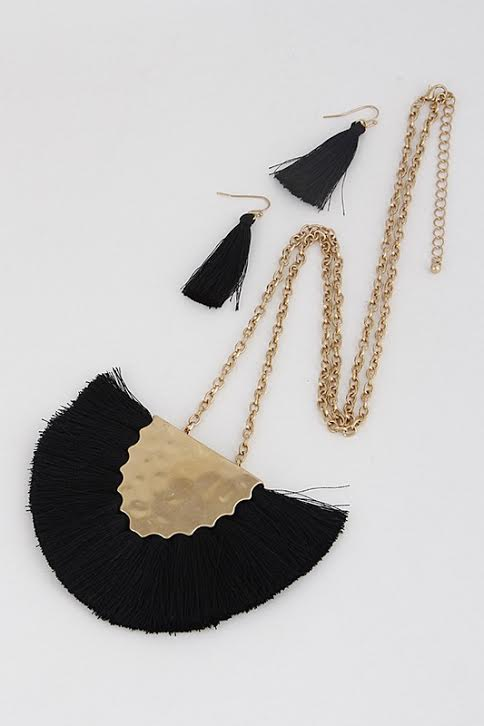 'All About the Fringe' Necklace