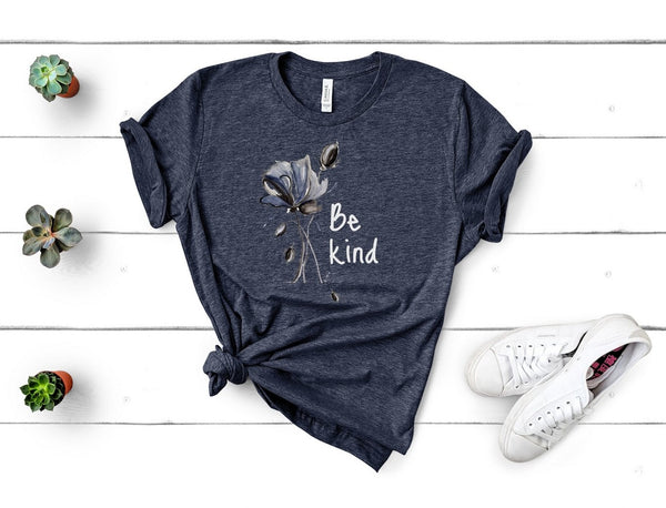 "T shirt by JETT IMPRESSIONS ""Be Kind"" T shirts for Women"