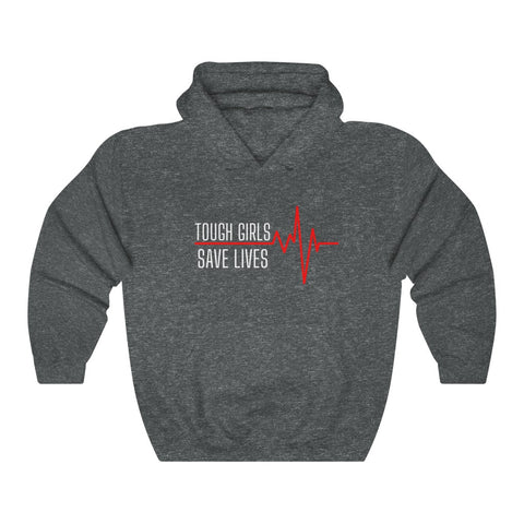 "Hoodie by JETT IMPRESSIONS ""Tough Girls"" Sweatshirt Hoodie for Nurse Women"