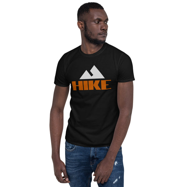 "Short-Sleeve Unisex T-Shirt ""HIKE"" Artwork designed by Kathy Morawiec"