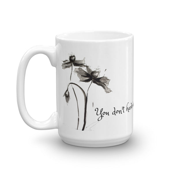 "Mug ""You Don't Have to be Perfect to be Amazing"" Artwork designed by Kathy Morawiec"