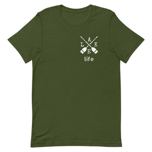 "T shirt by JETT IMPRESSIONS ""Lake Life"" Lake T shirts for Women or Men"