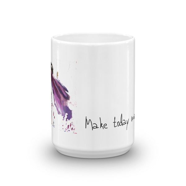 "Mug ""Make Today Magical"" Artwork designed by Kathy Morawiec"