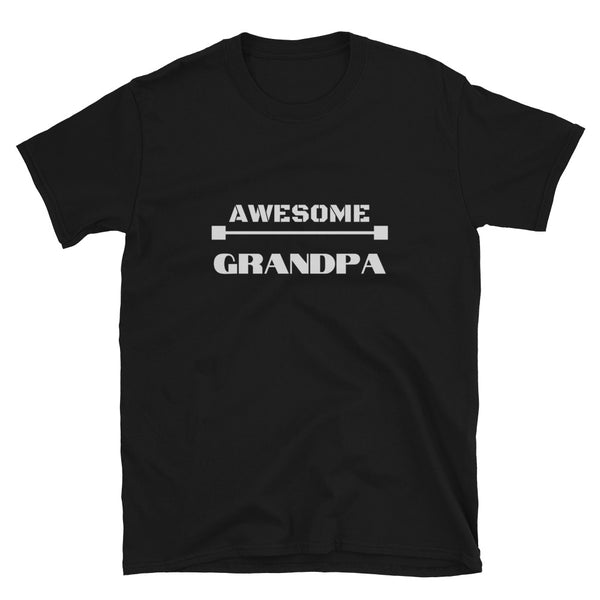 "T shirt by JETT IMPRESSIONS ""Awesome Grandpa"" T shirts for Grandpa"