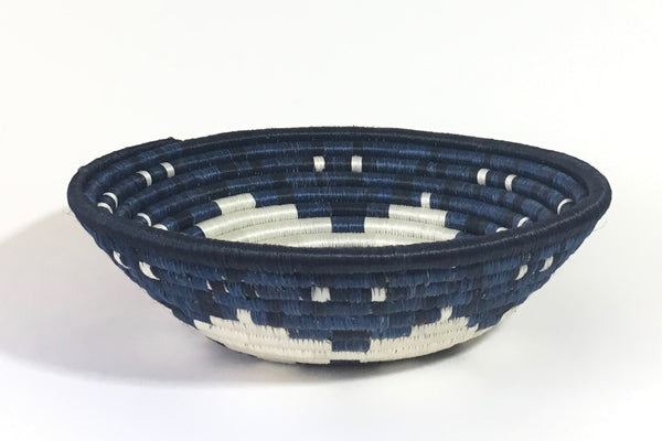Medium Blue/Black Hope Basket