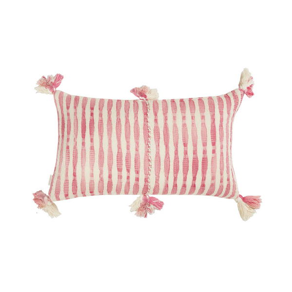 Archive New York Antigua Pillow, faded pink stripe