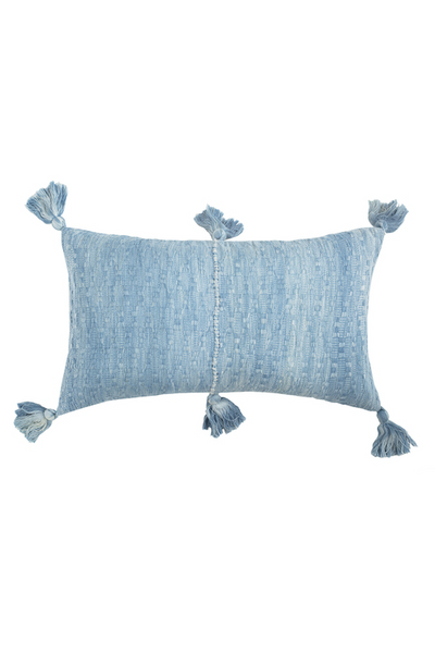 Archive New York Antigua Pillow, ocean tie dye