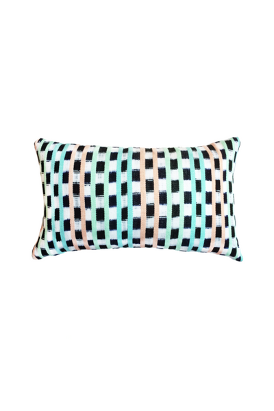 Archive New York San Juan La Laguna Jaspe Pillow, pastel