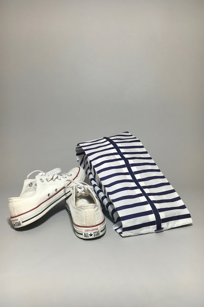 Baggu Large 3-D Zip, Sailer Stripe, shoes