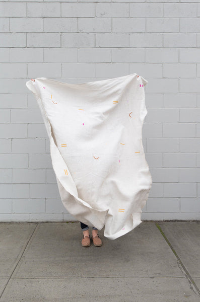 Caroline Z Hurley Florence Natural Throw