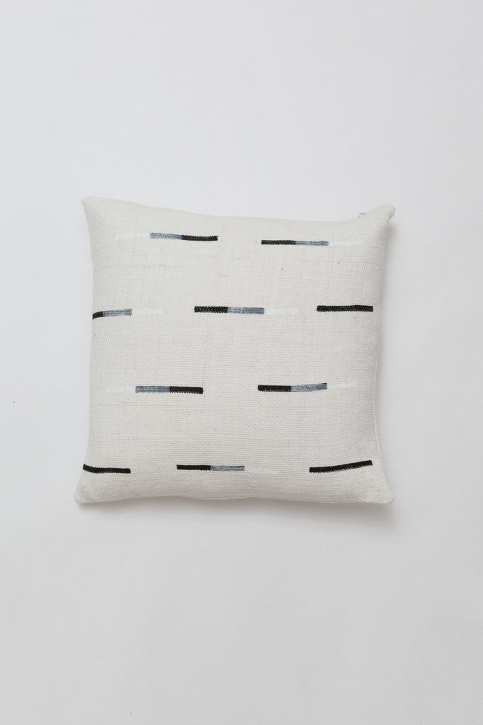 Caroline Z Hurley Yucatan Dashes Pillow, black