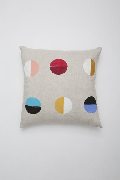 Caroline Z Hurley Natural Moons Pillow