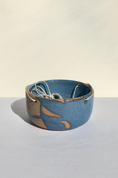 Christina Kosinski Mayhem Hanging Planter, blue