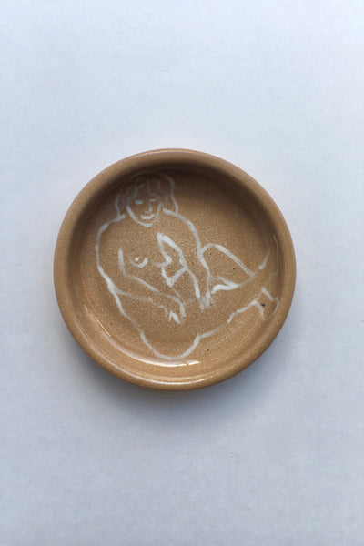 HEA Ceramics Naked Lady Plate