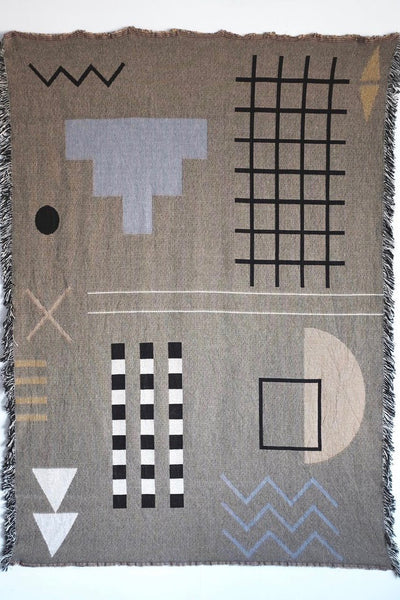 Hannah Ruth Levi Aquarius Throw Blanket