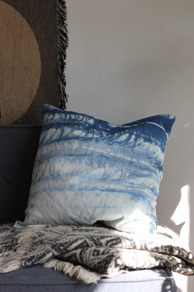 Hannah Ruth Levi Indigo Dyed Pillow