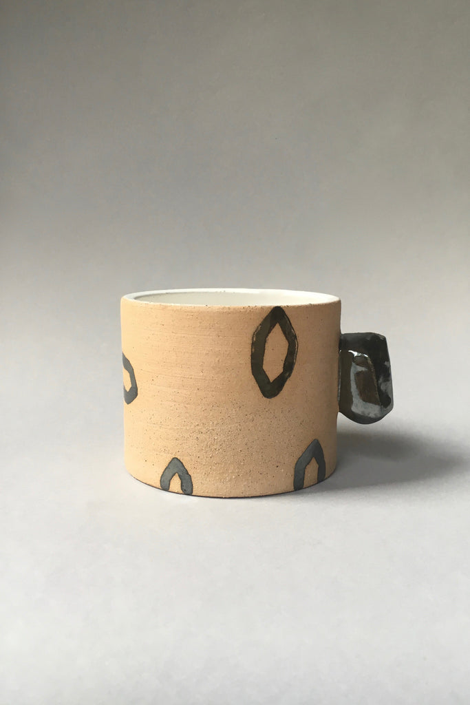 Jed Ceramics Crystal Outline Mug