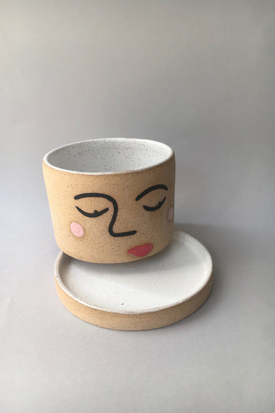 Jed Ceramics Face Planter