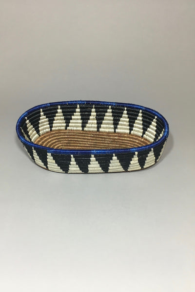 Black/Indigo Bread Basket view 2