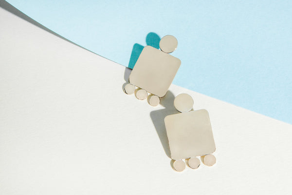 Cities In Dust Shield Earrings