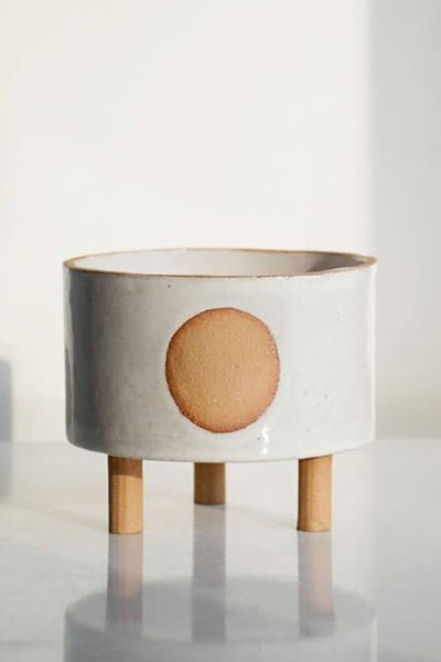 Halsion Collective Circle Planter