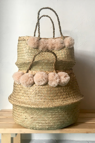 Xinh & Co. Xinh Baskets, blush