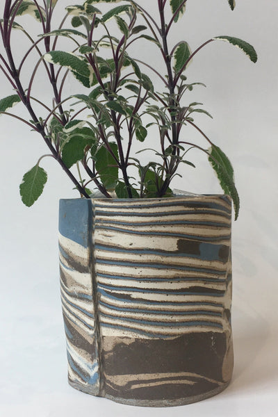 IIIVVVYYY Canyon Planter, blue multi