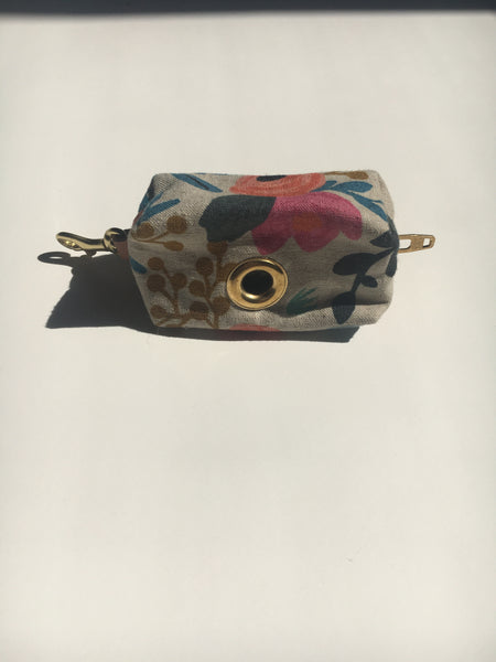 The Foggy Dog Rifle Paper Co. Rosa Floral Leash Bag