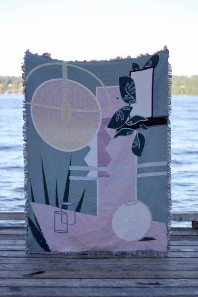 Hannah Ruth Levi Sim Throw Blanket