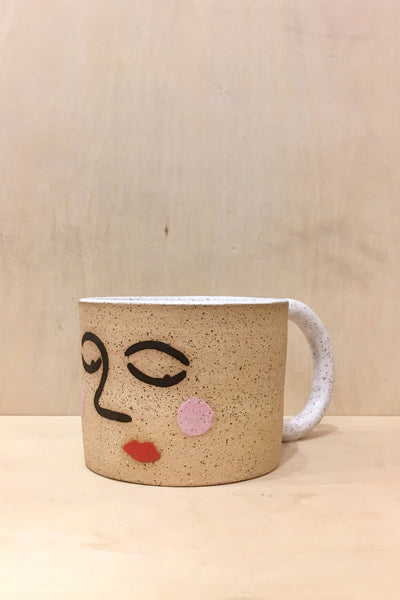 Jed Ceramics Face Mug