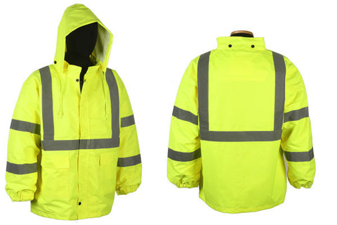100% WATERPROOF RAIN JACKET ; XG750C-3