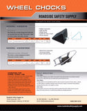 Wheel Chock Product Sheet