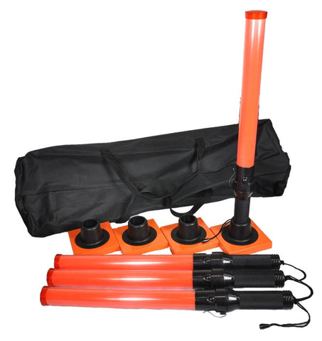 Set of 4 Baton Kit with Bases