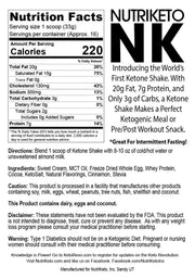 Gourmet Dutch Chocolate Ketone Shake