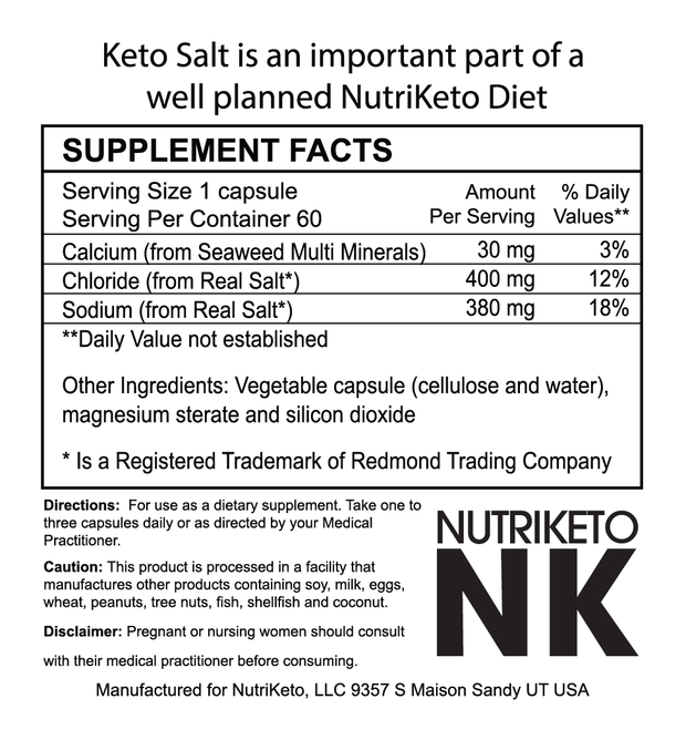 Keto Salt with Trace Minerals