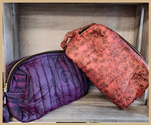Recycled Silk Sari - toiletry bag