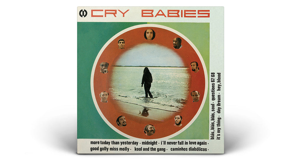 New Reissue: An early formation of Banda Black Rio - Cry Babies' debut album from 1969