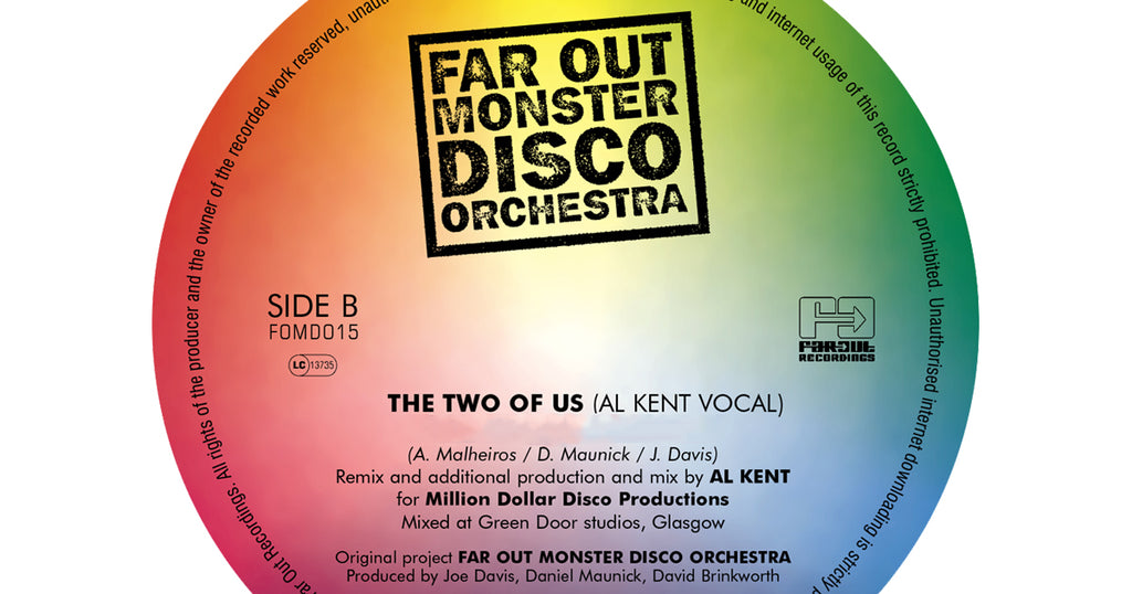 Far Out Monster Disco Orchestra | 'The Two Of Us' Al Kent Vocal Mix