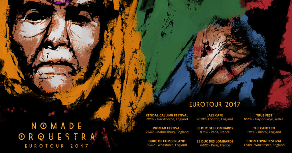 Nomade Orquestra | European Tour 2017