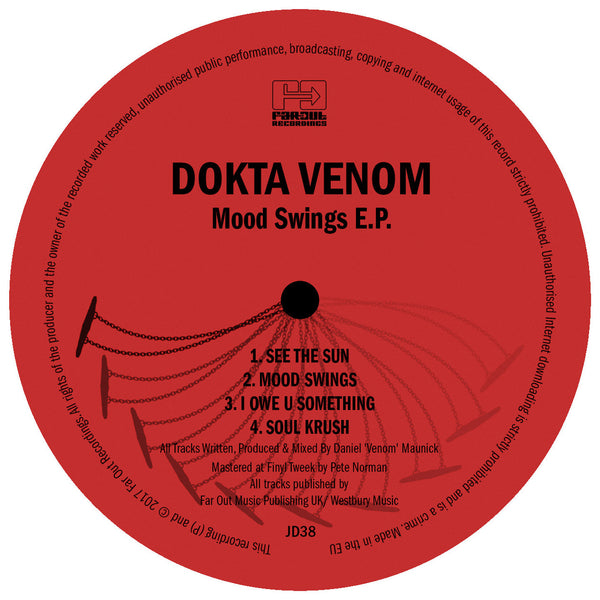 Dokta Venom - Mood Swings EP [2017]