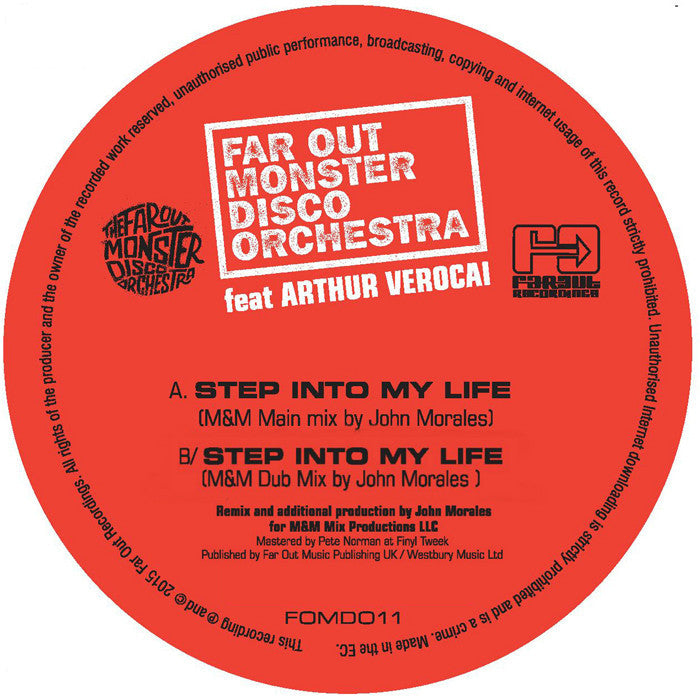 Far Out Monster Disco Orchestra - Step Into My Life (John Morales M&M Mixes) [2015]