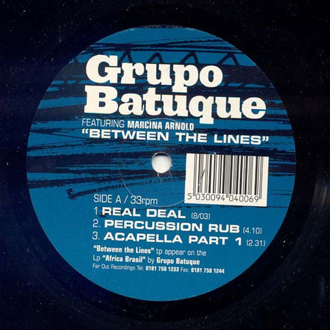 Grupo Batuque - Between The Lines (Big Bang remixes) [2002]