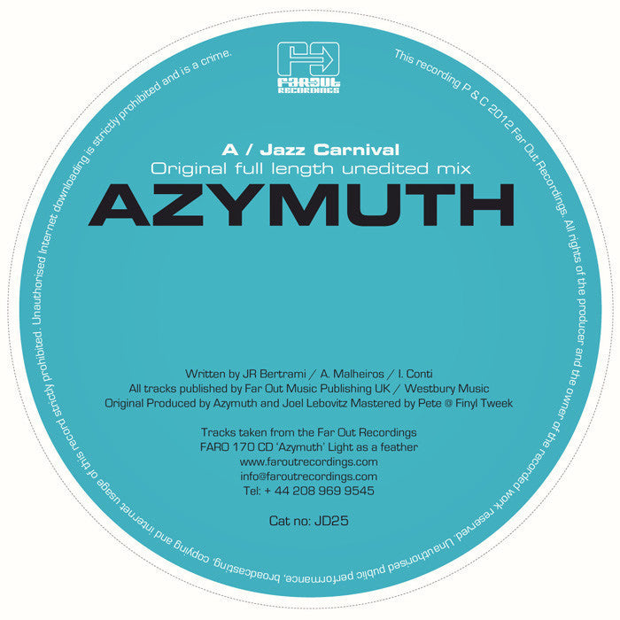 Azymuth - Jazz Carnival