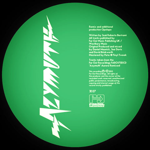 Azymuth - Ashley Beedle & Opolopo Remixes [2013]